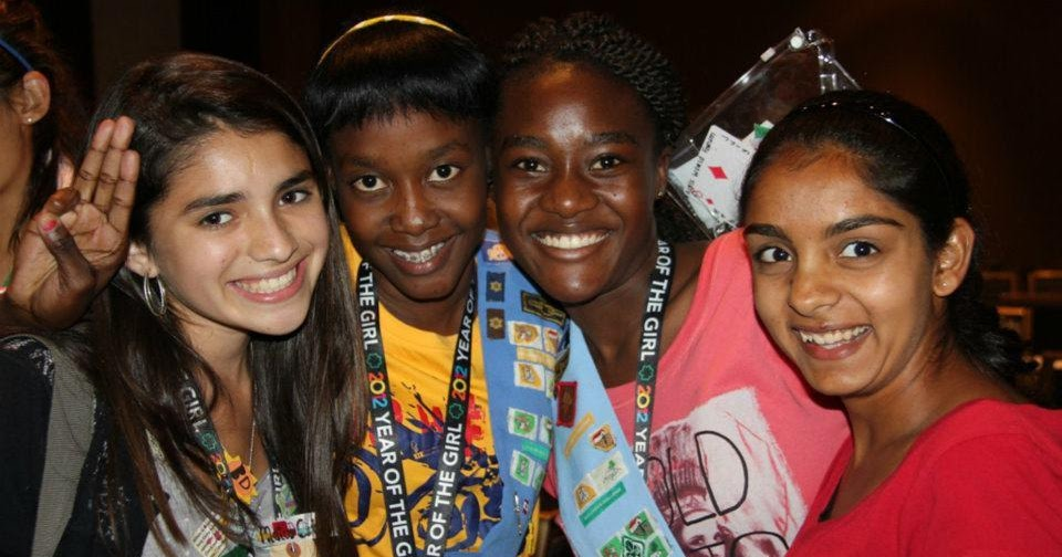 girl scout blog girls scouts and girl guides from all