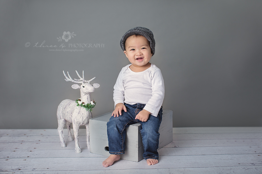 Christmas baby Boy Photos