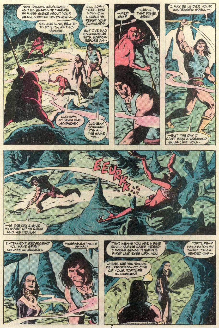 Conan the Barbarian (1970) Issue #124 #136 - English 7