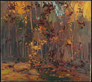 Tom Thomson painting - Maple Saplings