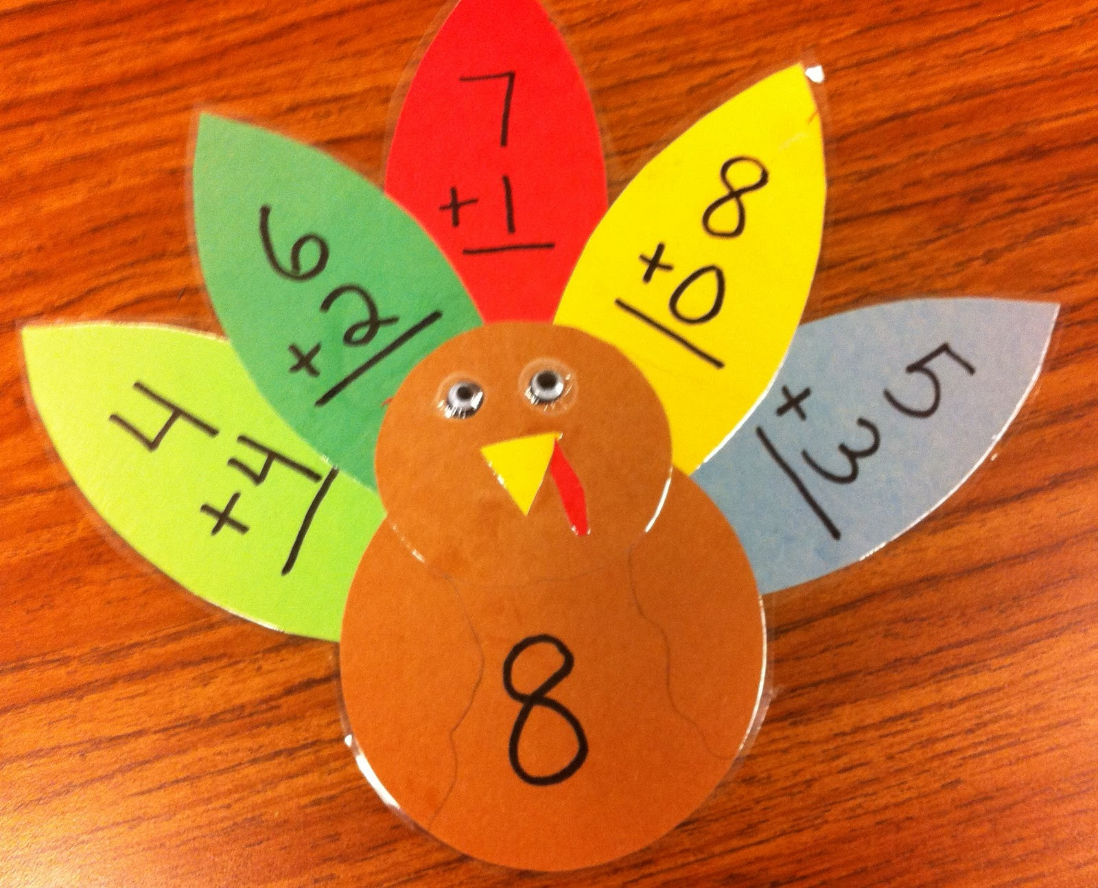 Crazy for first grade gobble goodies for Turkey crafts for first grade