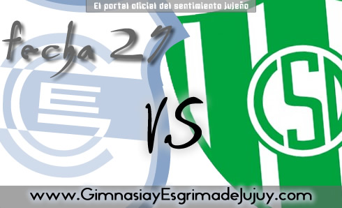 Fecha 27: Gimnasia de Jujuy vs Desamparados de San Juan