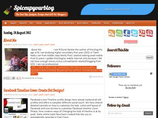 ShoutMeLoud Like Blogger Template Clone