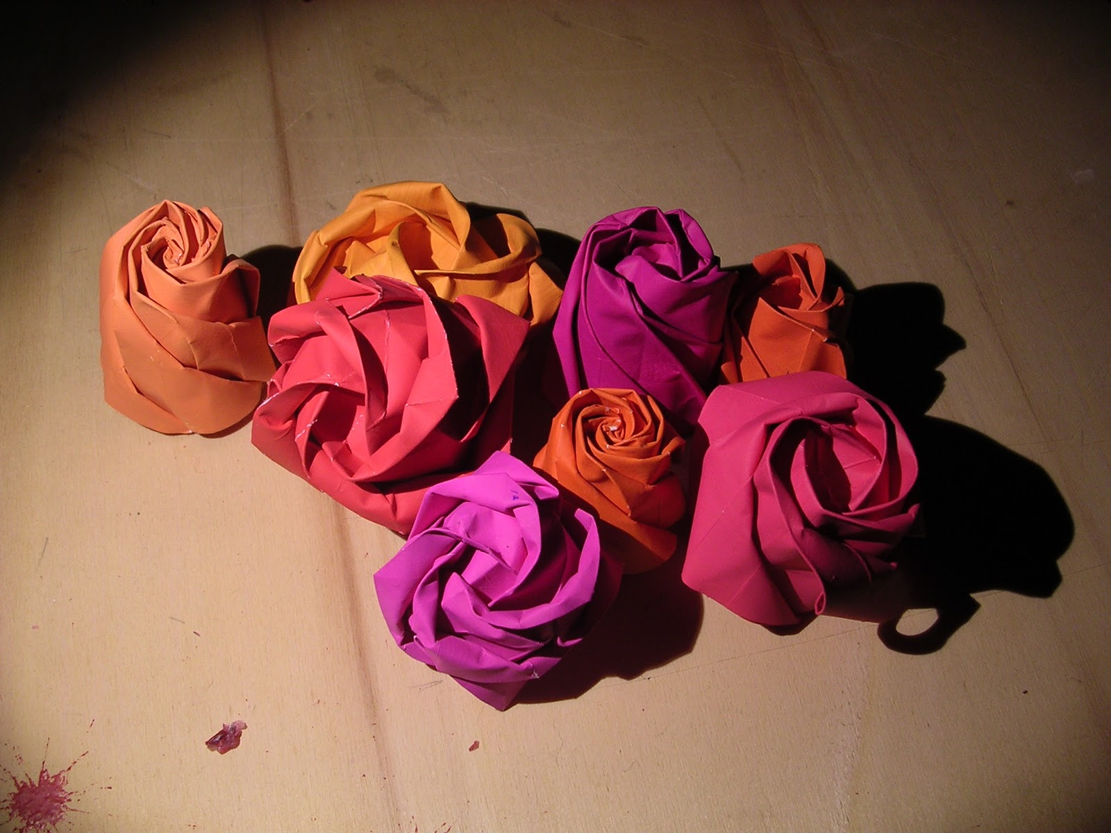 Shin han gyos origami rose box origami constructions origami rainbow roses how to make it httpbloom4everhowto origami rosep jeuxipadfo Choice Image