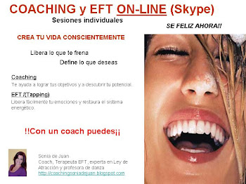 COACHING + EFT ON-LINE
