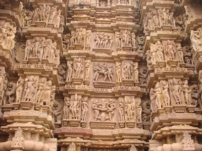 Walls of Kandariya mahadev temple wallpapers khajuraho