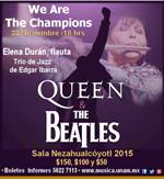 ELENA DURÁN QUEEN + BEATLES