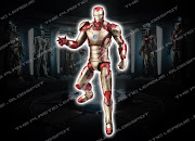 """. serie de """"Iron Man 3 Legends"""", y ahora tenemos las imágenes que forman a . (iron man hasbro mlwave ironmanmarkxlii)"""