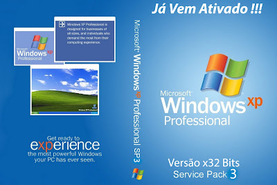 Windows XP SP3 x32 DVD Capa