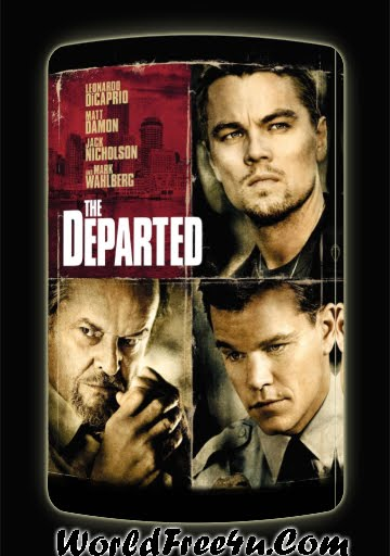 Poster Of The Departed (2006) In Hindi English Dual Audio 300MB Compressed Small Size Pc Movie Free Download Only At worldfree4u.com