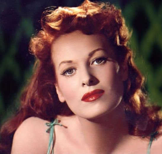 maureen ohara absolutely beautiful woman walk earth actress movie quiet