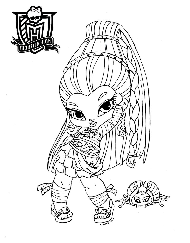 ... lo que necesitas saber sobre las monster high: dibujos monster high
