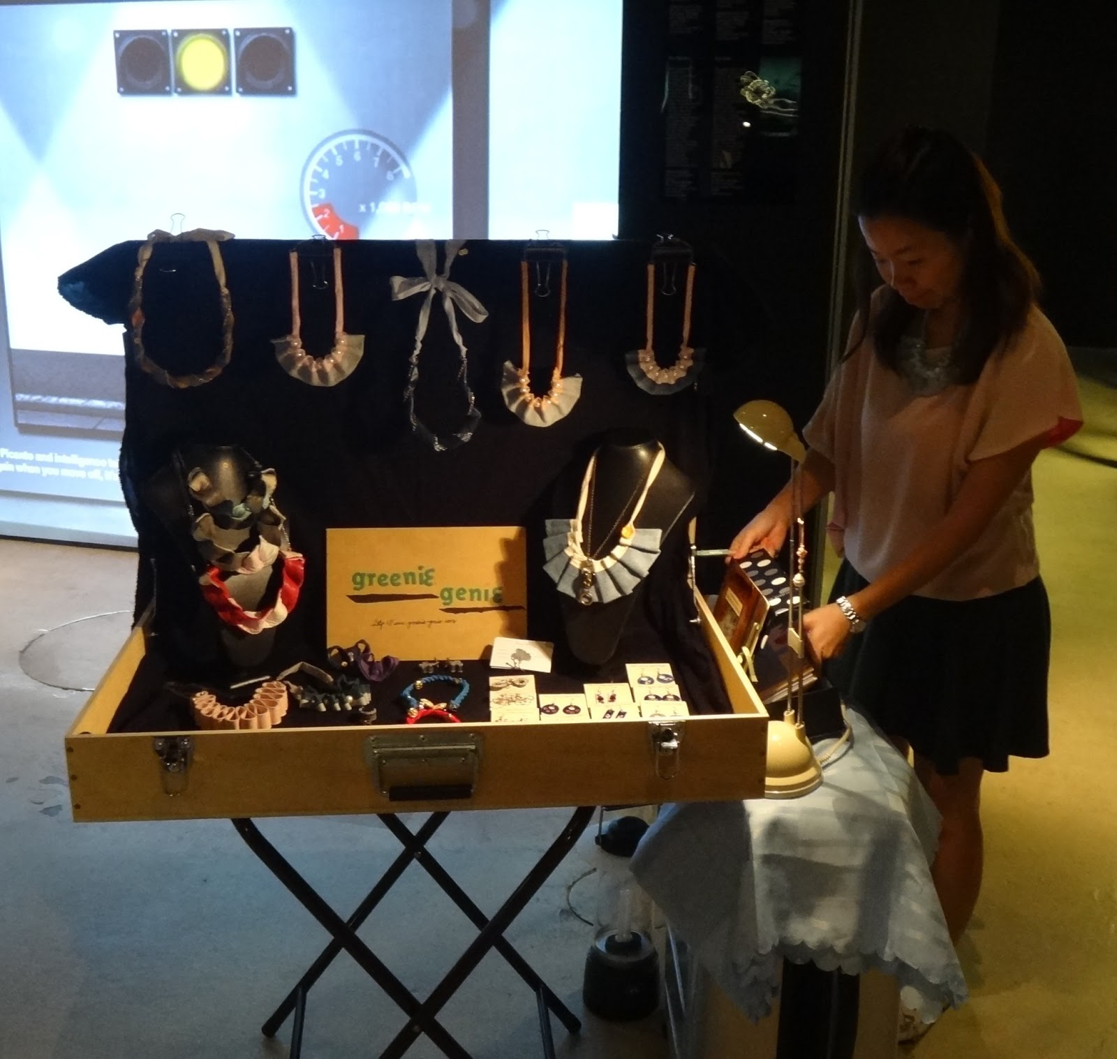 January 2013 Maad at Red Dot Design Museum, Singapore