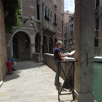 Aquarell in Venedig