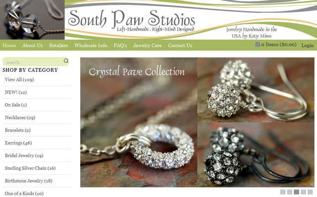 Beaded Jewelry Collections by Southpawonline.com