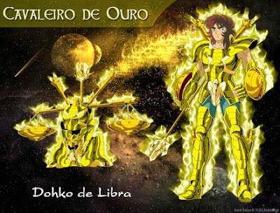 Caballero del Zodiaco Dohko de Libra.
