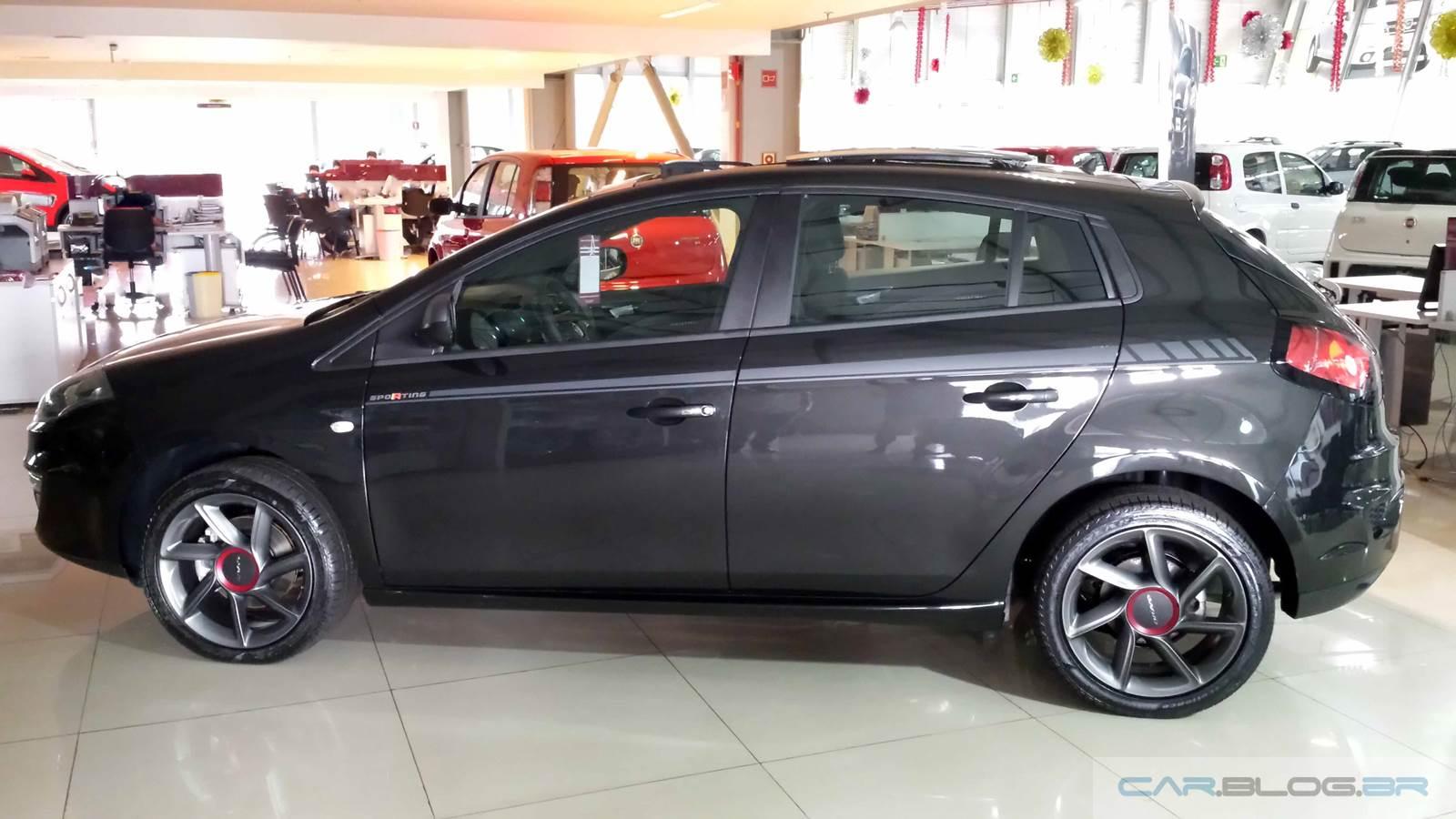 Fiat Bravo Sporting 2016 Preto Vesúvio Dualogic
