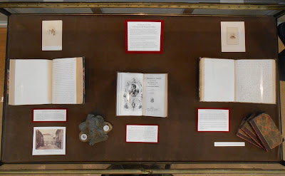Image of exhibit in Rauner Library
