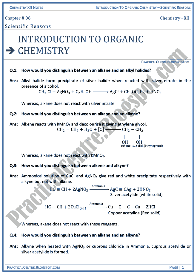 introduction-to-organic-chemistry-scientific-reasons-chemistry-12th
