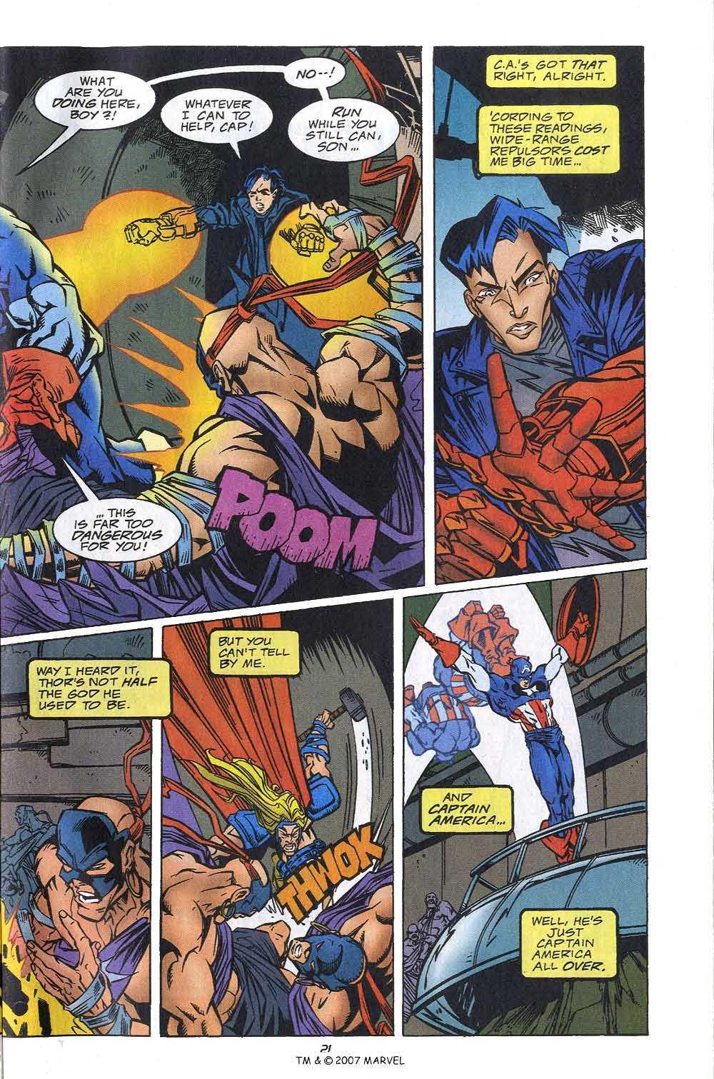 Captain America (1968) Issue #449c #405 - English 23
