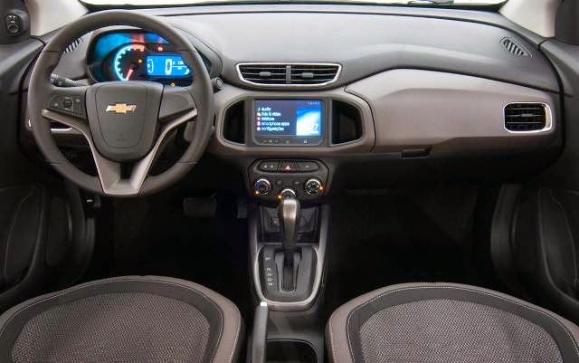 Novo Prisma 2014 interior painel