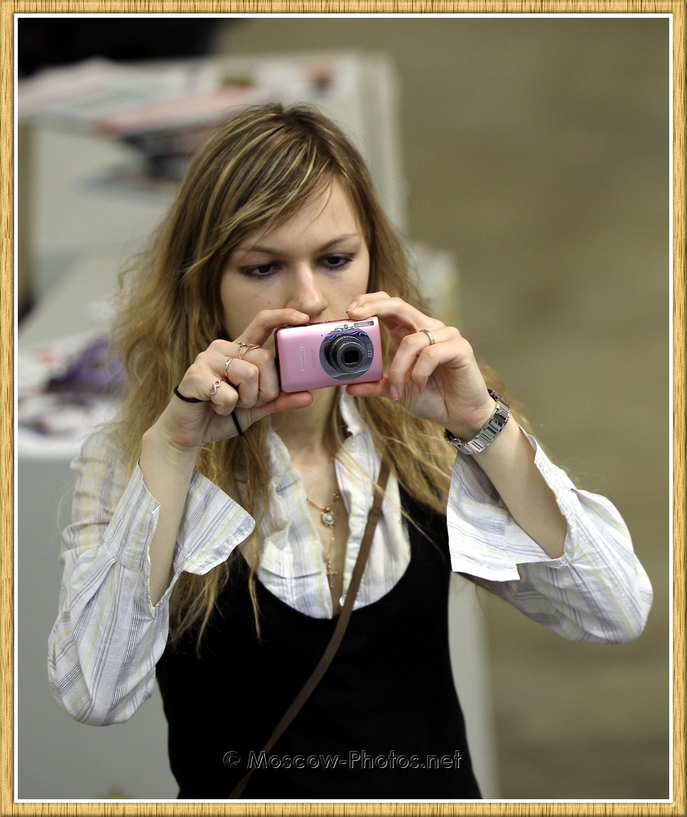 Moscow Girl at Photoforum - 2011
