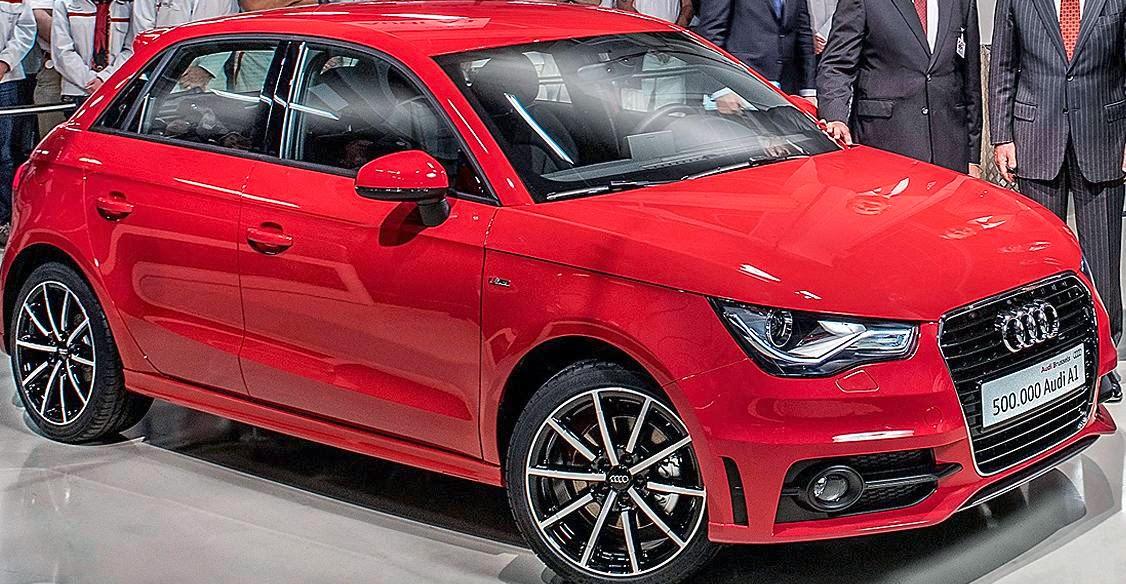 en mini Audi; A1
