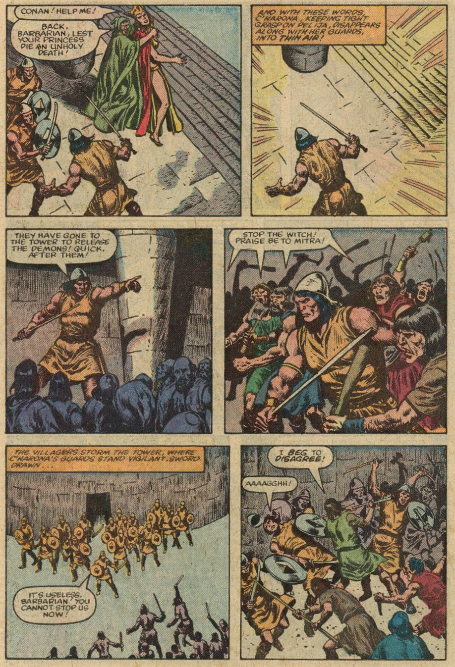 Conan the Barbarian (1970) Issue #147 #159 - English 21