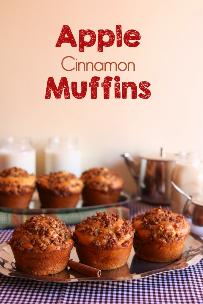 Cinnamon Girl: Apple Cinnamon Muffins