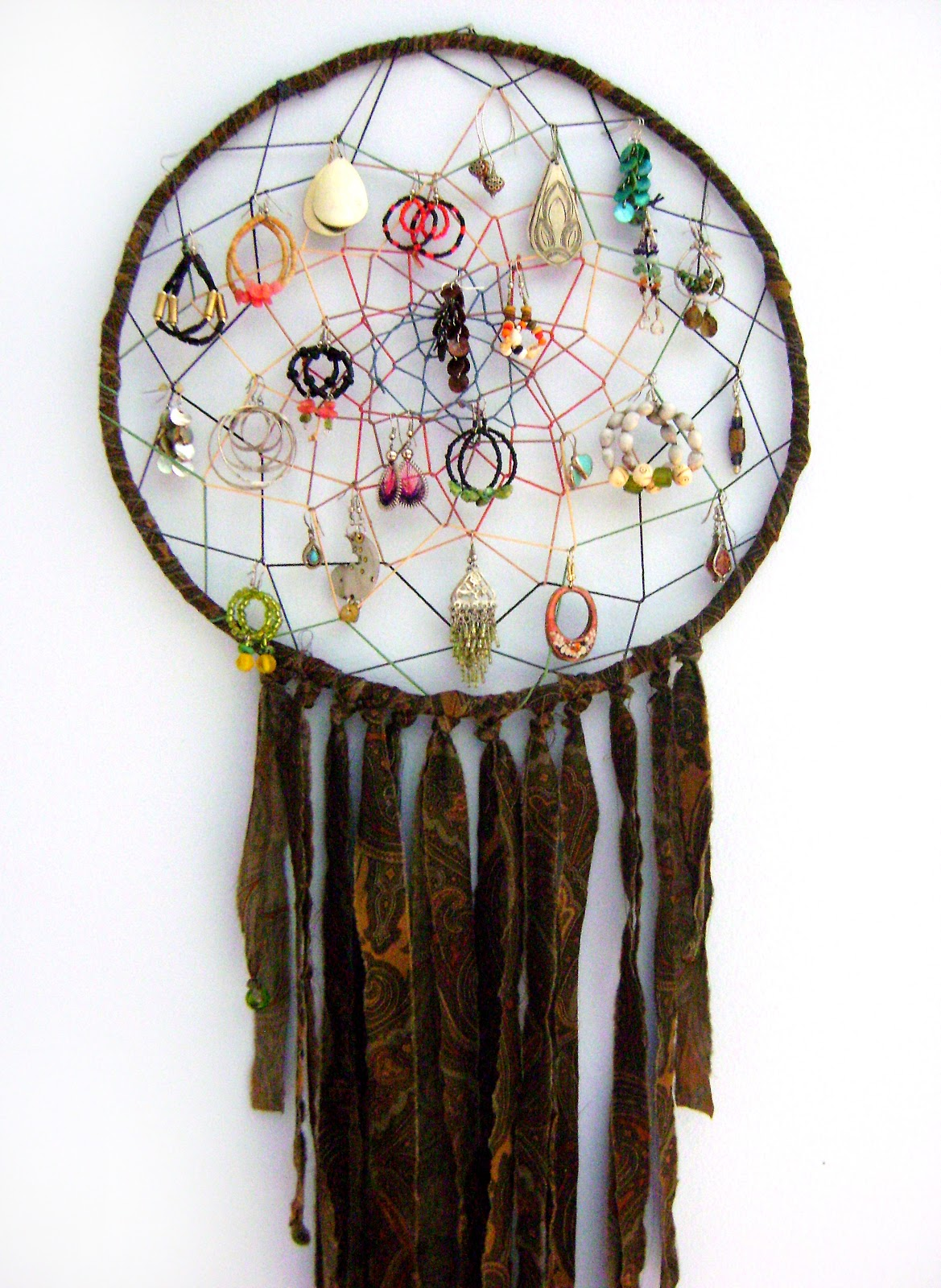 Dreamcatchers on pinterest dream catchers medicine for How to make a double ring dreamcatcher