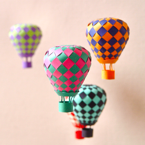 and paint obsessions amp distractions   hot air balloon crafts