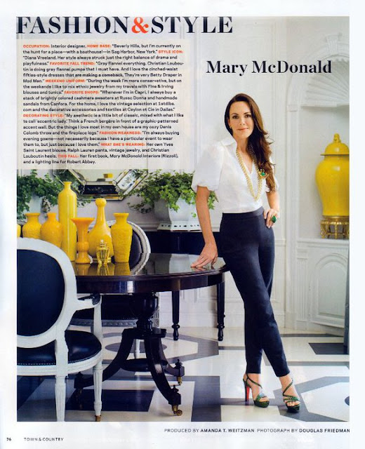 Rachel hazelton interior design bright and bold for Mary mcdonald interior design book