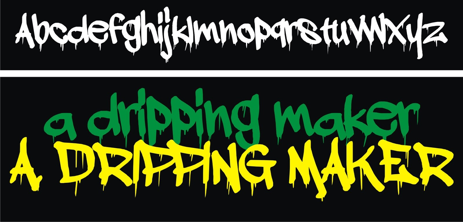 Free download version format ttf download now a dripping maker
