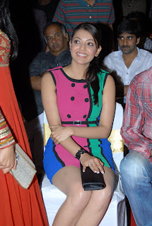 Kajal Agarwal in Colourful Skirt at Endukante Premanta Audio Launch | High Resolution Picture Gallery