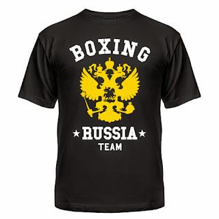 футболка boxing team
