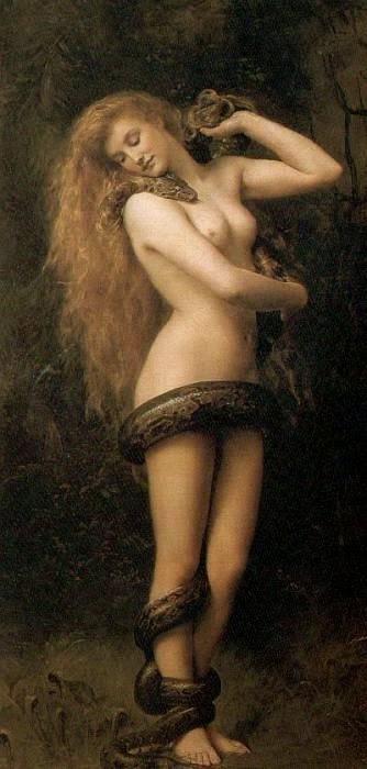Lilith, la primer mujer de Adán y madre de miles de demonios y vampiros según textos apócrifos.