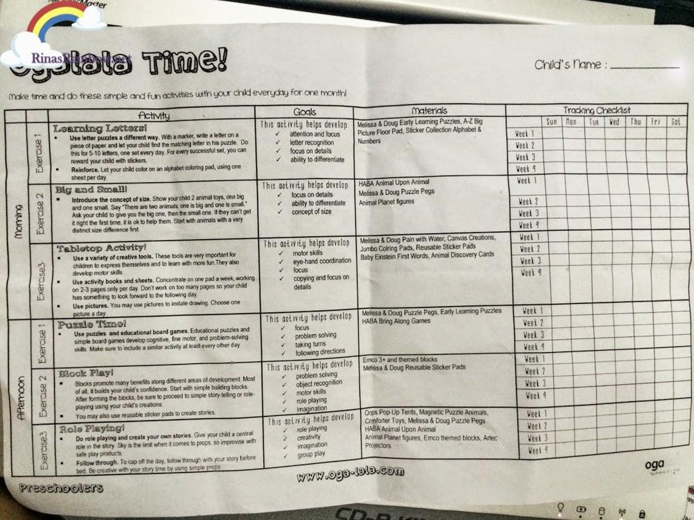 ogalala schedule