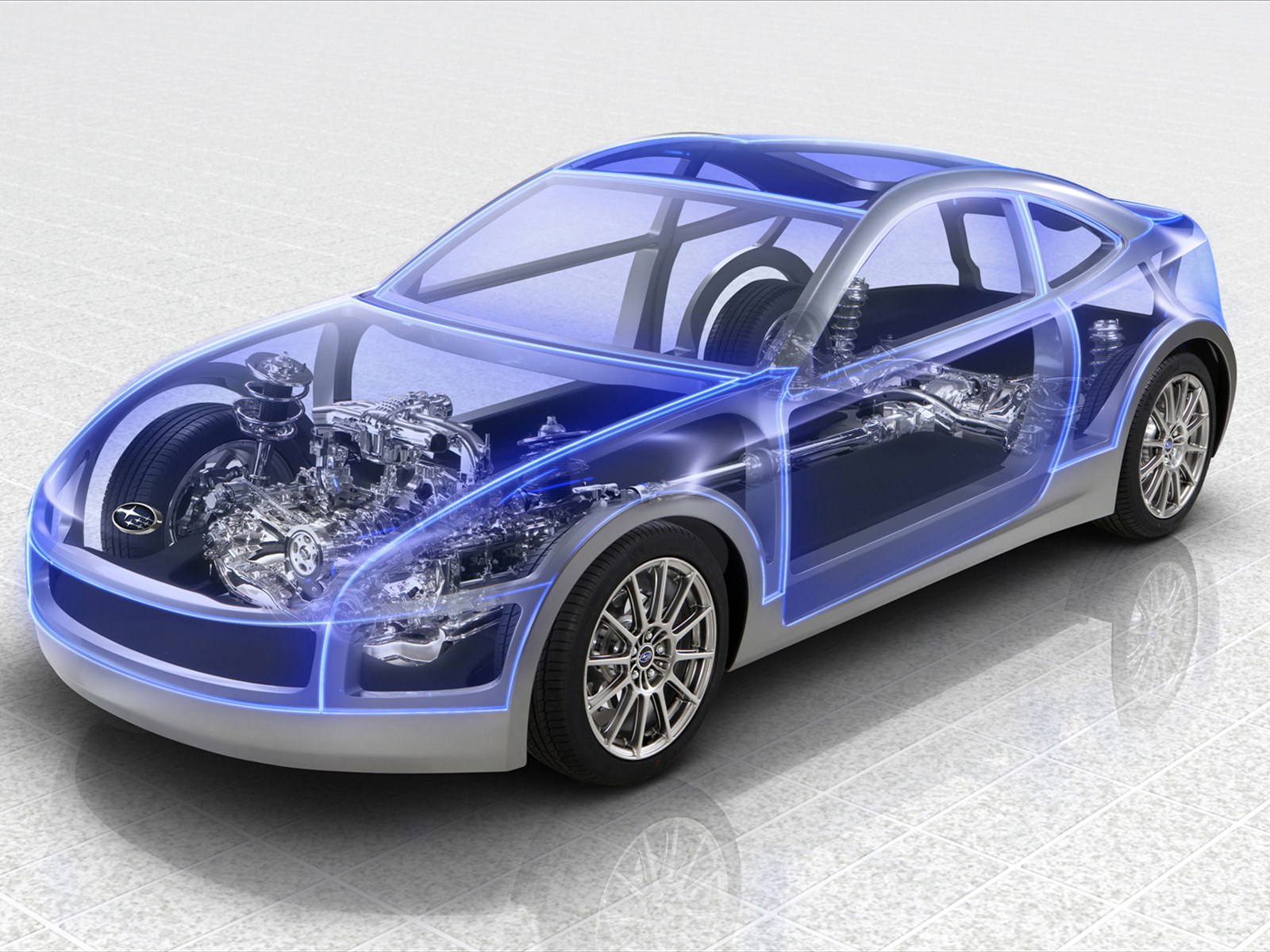 Car pictures subaru boxer sports car architecture 2011 for Coupe architecture