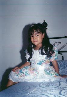 foto anisa chibi masih kecil
