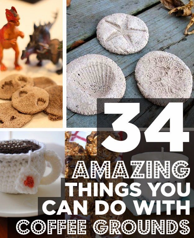 34 Unexpected Ways Coffee Grounds Can Make Your Life Better