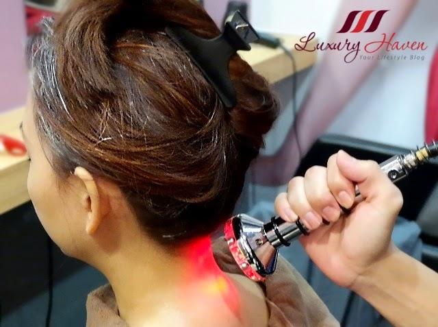 jass hair design galvanic nir suction gua sha