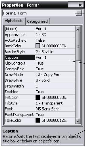 Object, Property, Method dan Event Pada Visual Basic 6.0