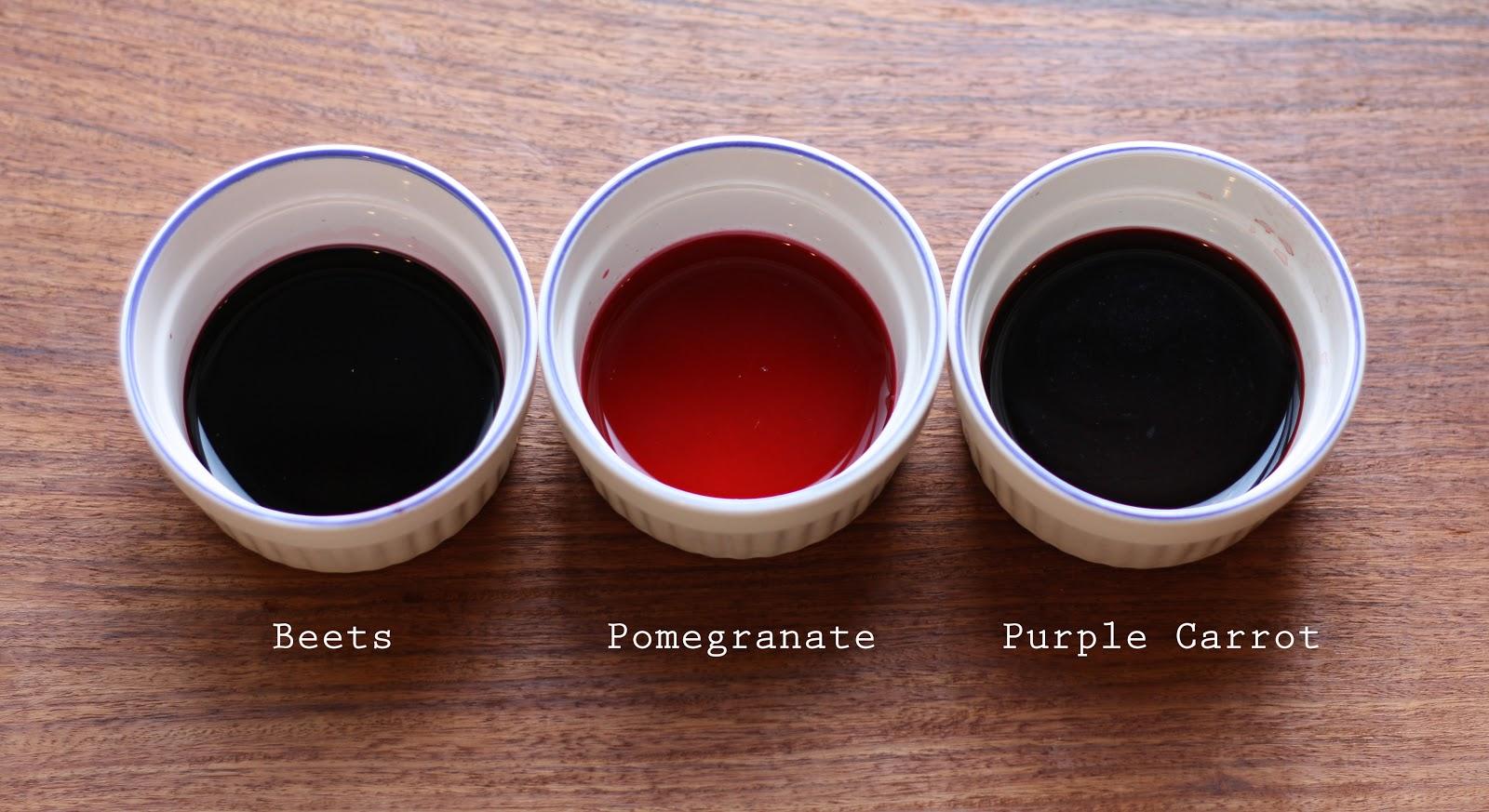 Natural Food Colouring | Using Beets, Carrots + Pomegranates to ...