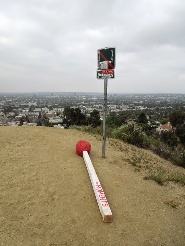 Giant matchstick moments Runyon Canyon