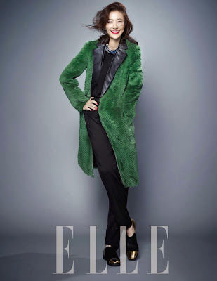 Son Tae Young - Elle Magazine December Issue 2013