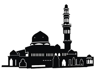 Kumpulan Gambar Gambar Vector Masjid Untuk Mewarnai 4