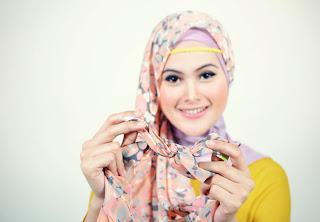 Hijab Cantik dengan Pashmina Chiffon | Tutorial Hijab