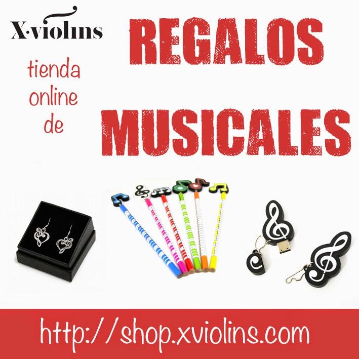 Xviolins Regalos Musicales, la tienda on-line especialista en regalos para músicos