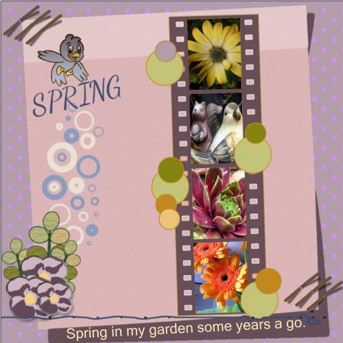 March 2016 - Spring in my garden.