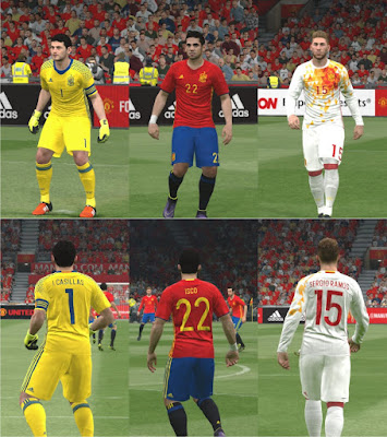 PES 2016 Spain Euro 2016 Kitpack by Ercan Güney